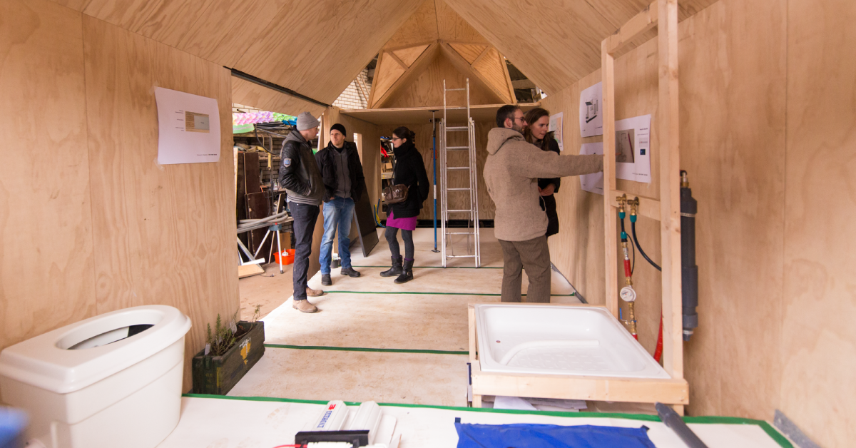 Nudge tiny houses meer dan alleen maar klein for Tiny house movement nederland
